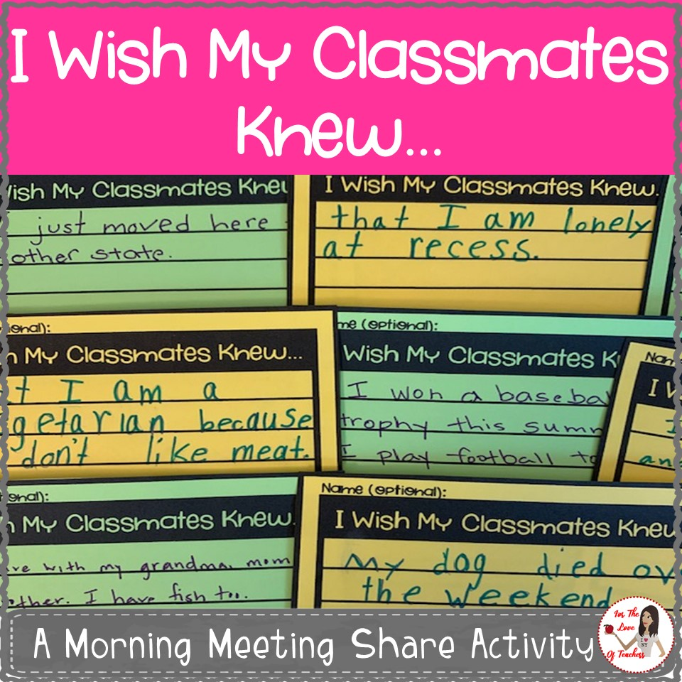 Back-to-school classroom activity that provides insights and builds trust | Kite Kid Mama