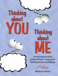 "Great for school counselors, teachers and SLPs, who want an overview of the Social Thinking® Methodology, which teaches students ""social smarts"" skills and how to apply them in everyday situations."