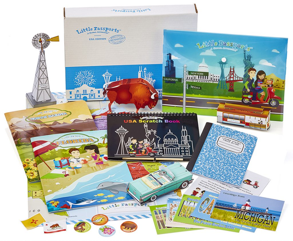 Little Passports USA edition