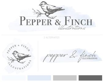 There are many talented Etsy sellers, who create logos and branding materials