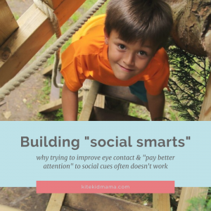 "Building social smarts: why trying to improve eye contact and ""pay better attention"" to social cues may not work"