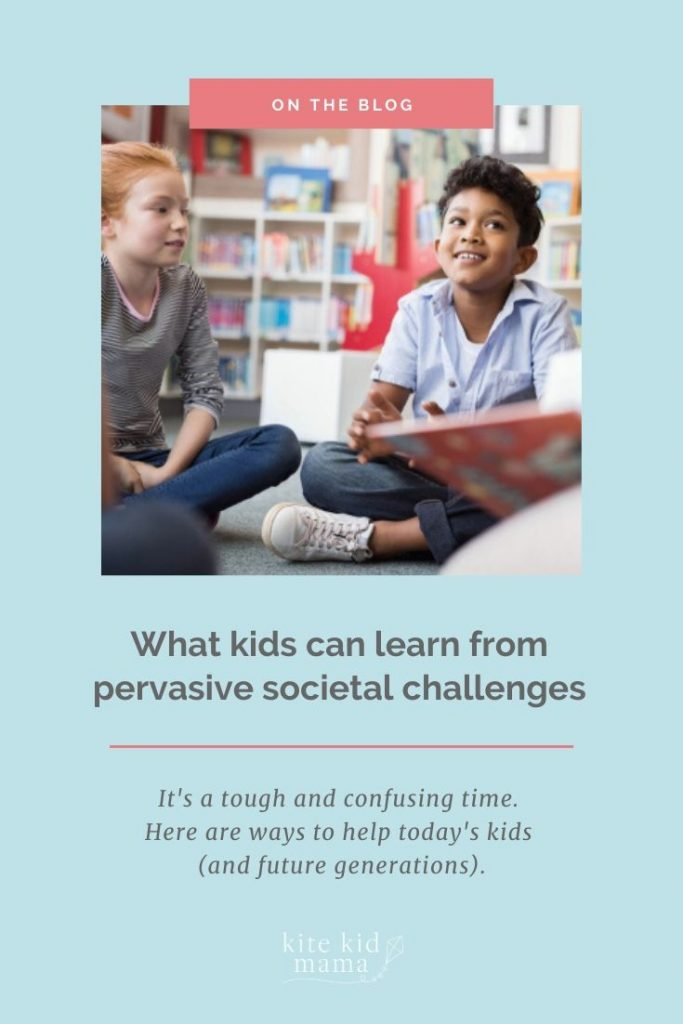 It's a scary and confusing time for kids. Providing a framework to: ask questions, listen to various perspectives, and brainstorm solutions, can help.