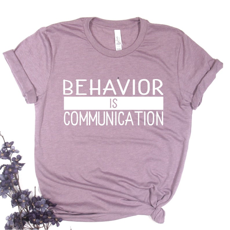 Love this tee for social-emotional learning and self-regulation training! It's perfect for teachers and counselors!