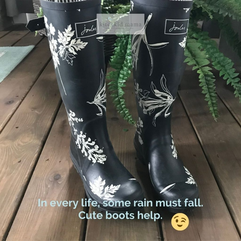 My favorite rain boots