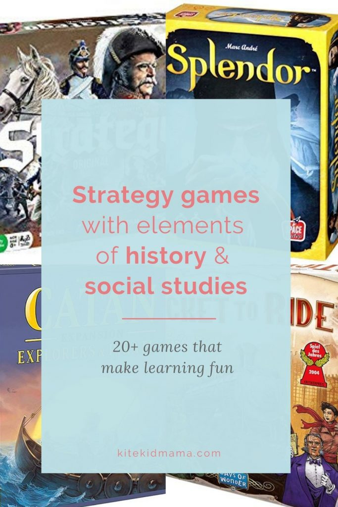 These strategy games are so fun they won't notice they're learning. Plus, none of them involve screen time.