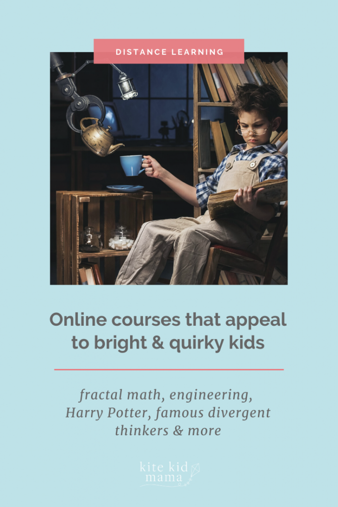 """Need enrichment opportunities for a """"gifted"""" or twice-exceptional (2e) child? These online classes, which offer interaction with other kids, are perfect!"""