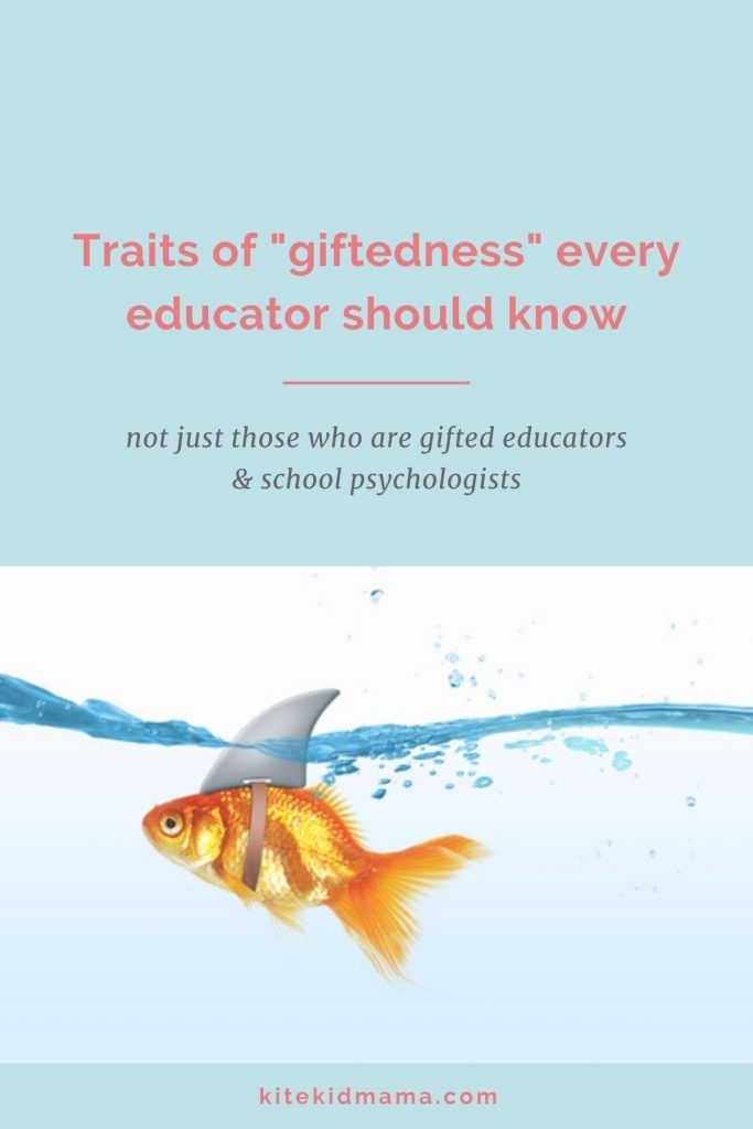 """""""Giftedness"""" affects the whole child, including socially & emotionally. It's a form of neurodiversity that often comes with lagging skills too."""